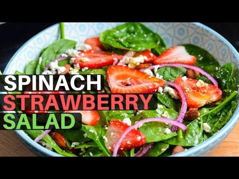 Strawberry Spinach Feta Salad Summer Goodies