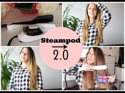J'ai testé le tout nouveau Steampod blanc 2.0 !