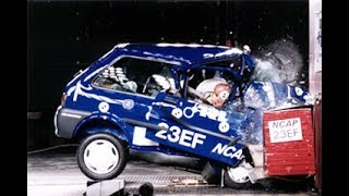 All of the Worst EuroNcap Crash Tests (1997-2018)