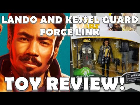 STAR WARS SHILL GARBAGE MEDIA ASKS ME IF LANDO IS INTO DUDES. WTF?! PLUS TOY REVIEW!