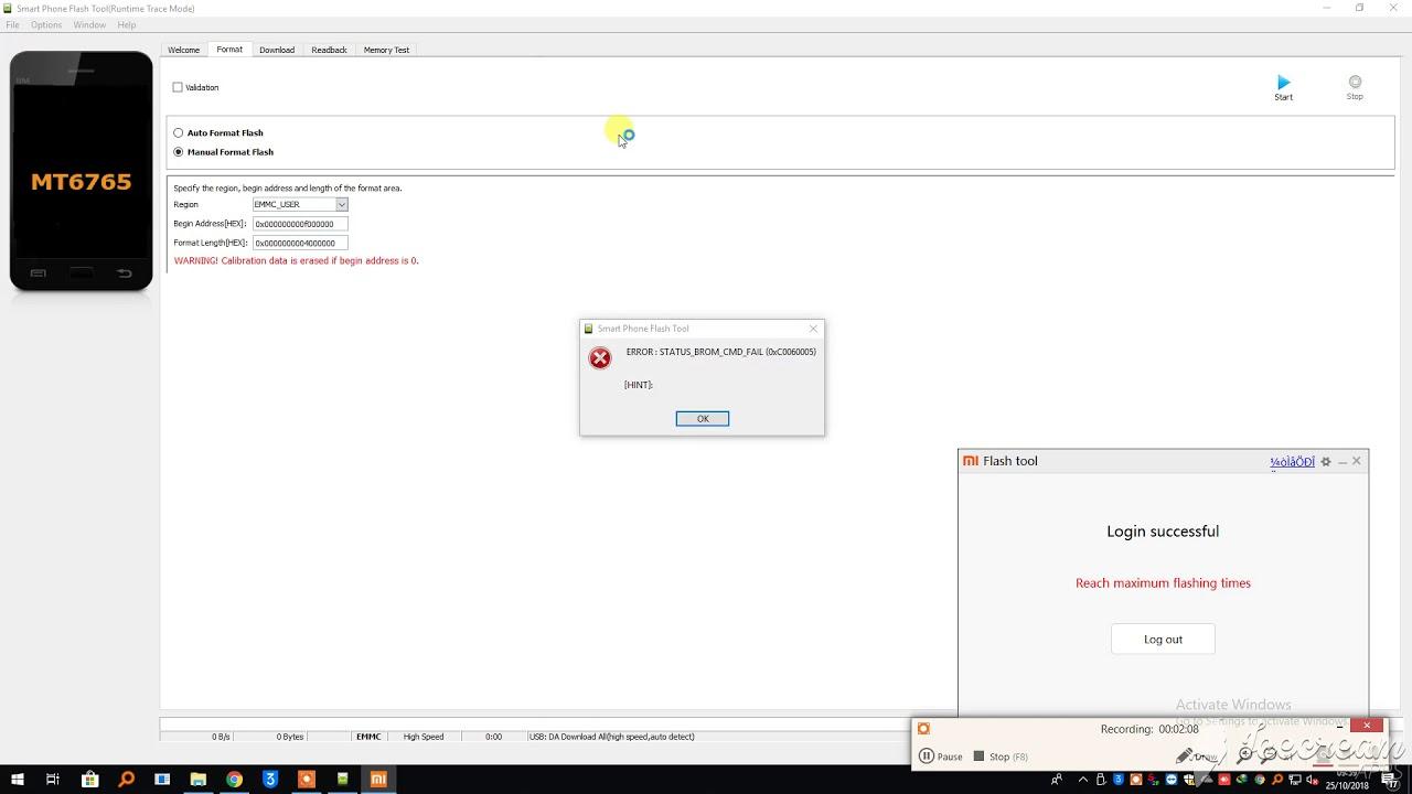 Redmi 6A Mi Account Remove Done