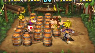 Mario Party 5 Minigame: Banana Punch 60fps