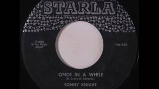 Sonny Knight (& Grp.) - Once In A While / School's Out (Starla 10) 1958 Resimi