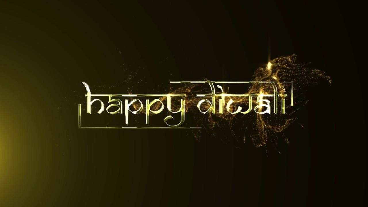 happy diwali templates - YouTube