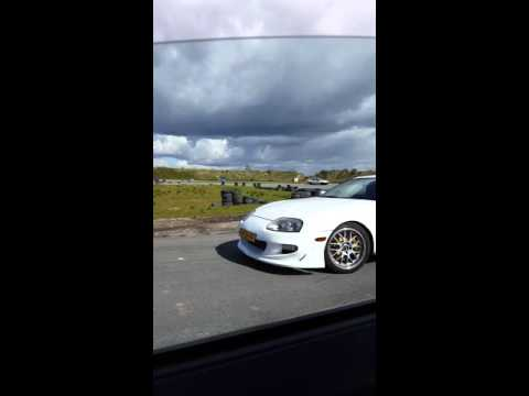 Mitsubishi Colt Czt Vs Toyota Supra Ttt Circuit Emmen Youtube