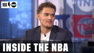 Trae Young Joins the Desk | NBA on TNT