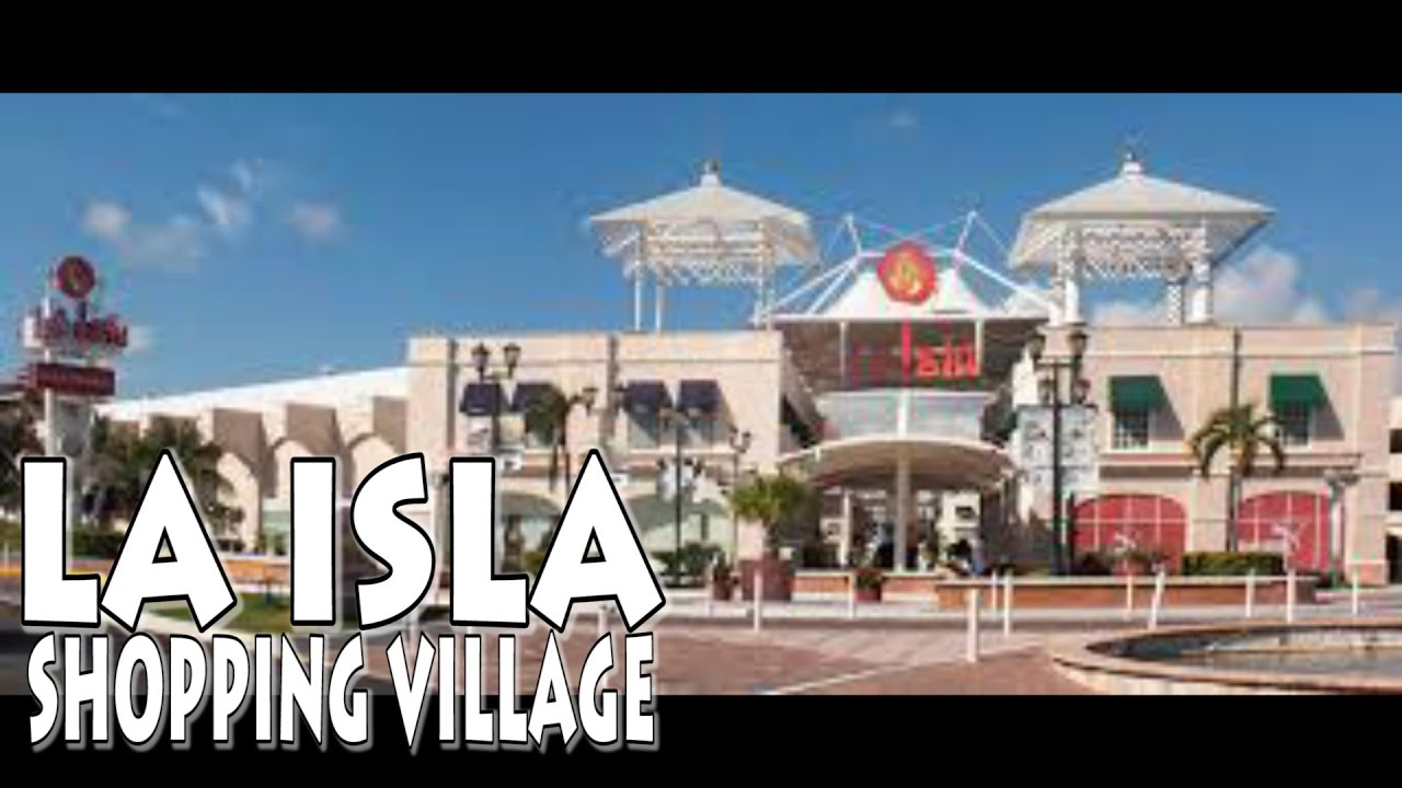 LA ISLA Shopping Village Cancun Mexico 4K - YouTube 9df37cbc9c4c7