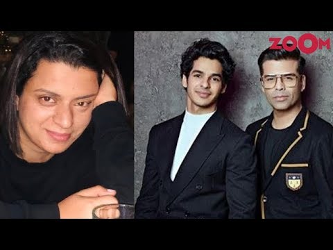 Rangoli Chandel REACTS over the rumours of Ishaan Khatter out of Dharma productions & SLAMS Karan Mp3