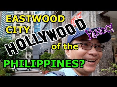 EastWood City! Hollywood daw ng Philippines? Vlog tour 2019