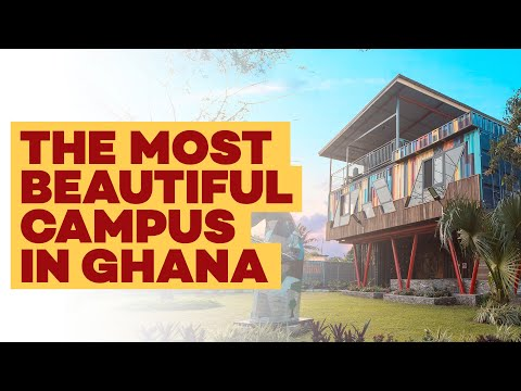 THE MOST BEAUTIFUL CAMPUS IN GHANA | VLOG EPISODE 5