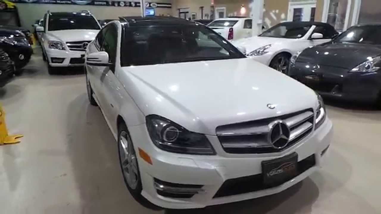 2012 mercedes benz c250 coupe youtube for 2012 c250 mercedes benz