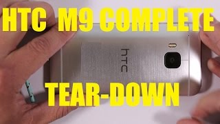 HTC M9 Screen Repair, Charging port fix, Battery Swap COMPLETE