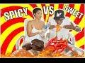 SWEET VS SPICY CHALLENGE!! 🌶(EXTREME!)