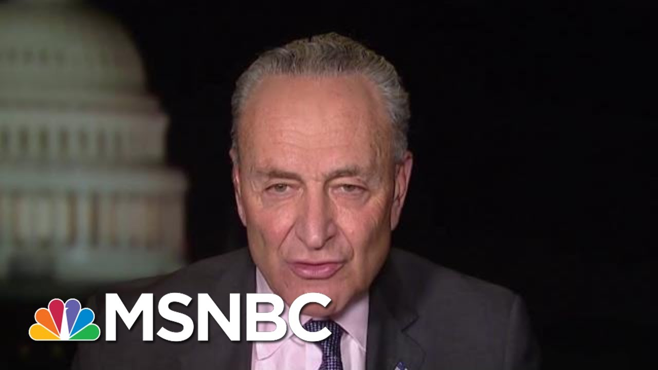 Chuck Schumer: It's Possible To Shame Mitch McConnell Into Action