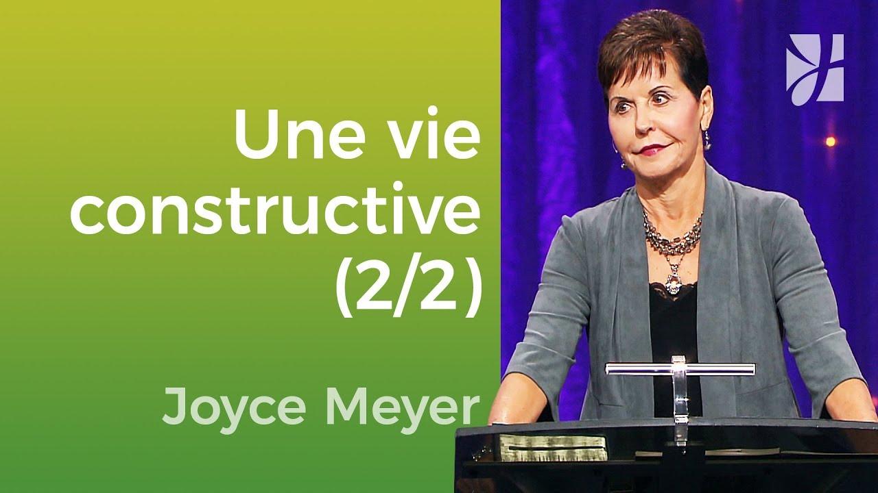 Comment vivre ? (2/2) - Joyce Meyer - Vivre au quotidien
