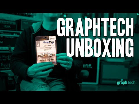 Unboxing Goodies From Graphtech For My TONFUCHS Guitar!