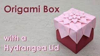 Mother's Day Origami Tutorial: Hydrangea Box (Shuzo Fujimoto)