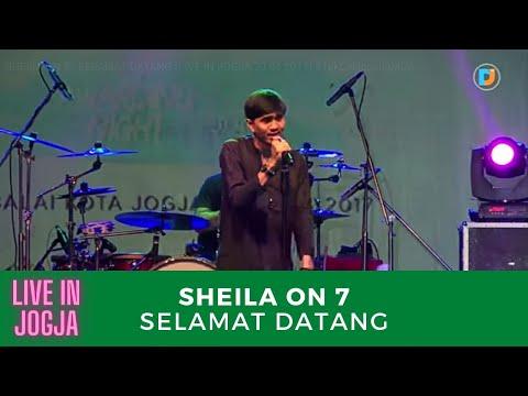 SHEILA ON 7 - SELAMAT DATANG (LIVE IN JOGJA 23 04 2017) #TakCaNggungMOA