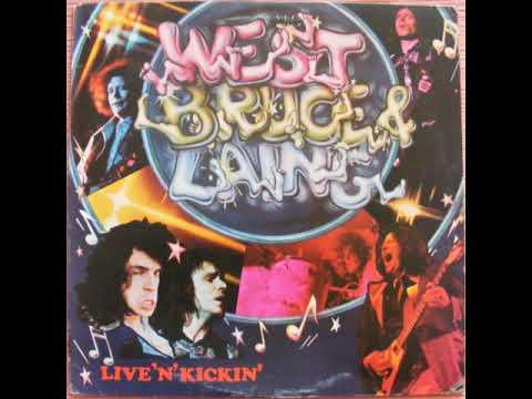 West, Bruce & Laing -  Live 'n' Kickin'  1974  (full album)