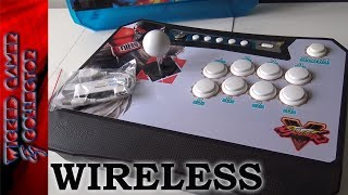 Wireless Pandora's Box - Arcade Fightstick - USB Dongle Review | Game Console Testing