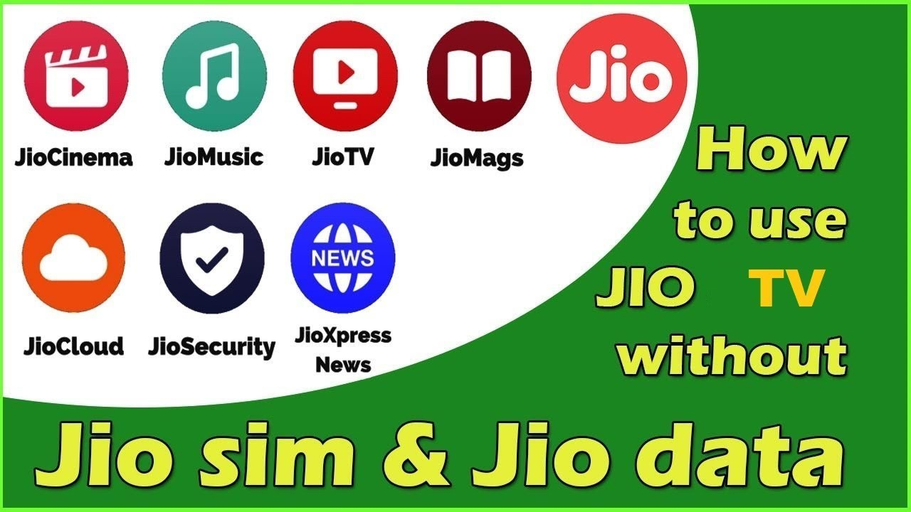 How to use Jio TV without Jio Sim on Any Network || Download Jio TV MOD APK  {100% Working}