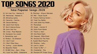 Top Songs 2020 - Top 50 Popular Songs Playlist 2020 - Best English Music Collection 2020