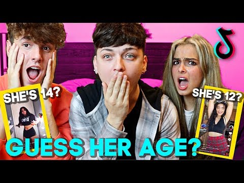 GUESS HER AGE CHALLENGE! (Tik Tok Edition) Ft. Bryce Hall & Addison Rae
