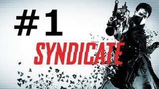 Syndicate Gameplay Walkthrough Part 1 PS3/XBOX 360