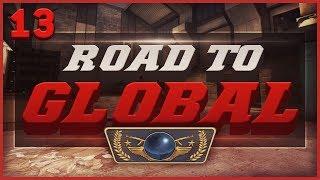 DET VILDESTE 1V5 CLUTCH!   ROAD TO GLOBAL ELITE #13 - CS:GO