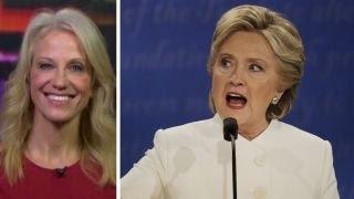 Kellyanne Conway: It was a tough debate for Hillary Clinton
