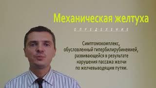 Факультетская хирургия (Хир. болезни) 4.Механическая желтуха