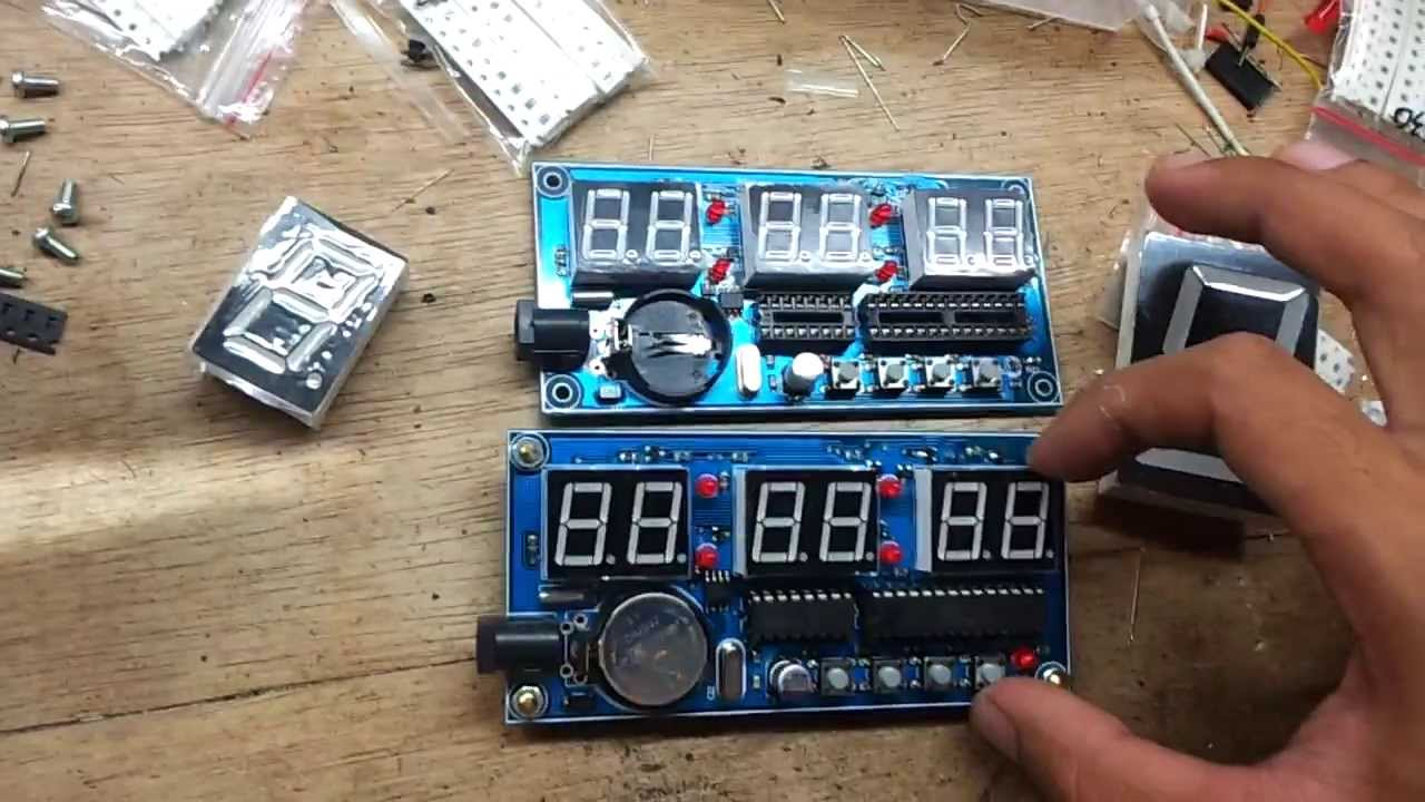 Digital Clock Alarm Thermometer - Belajar Arduino