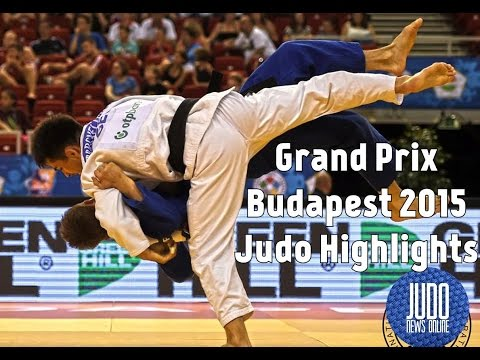 Grand Prix Budapest 2015 Judo Highlights