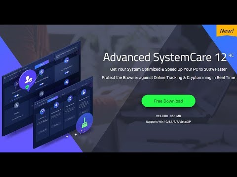 New Advance System Care 12 Pro RC How to Activate Register 2018….