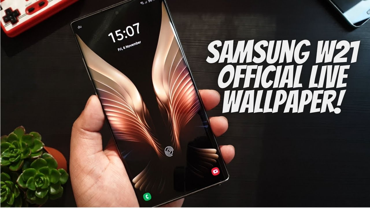 Download Samsung W21 Live Wallpaper Youtube