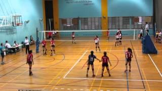 2016 B Div Girls National FMS vs BP 0-2 2nd set