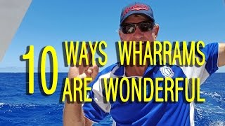 Hands Free Across the Atlantic - 10 Ways Wharrams Are Wonderful #01