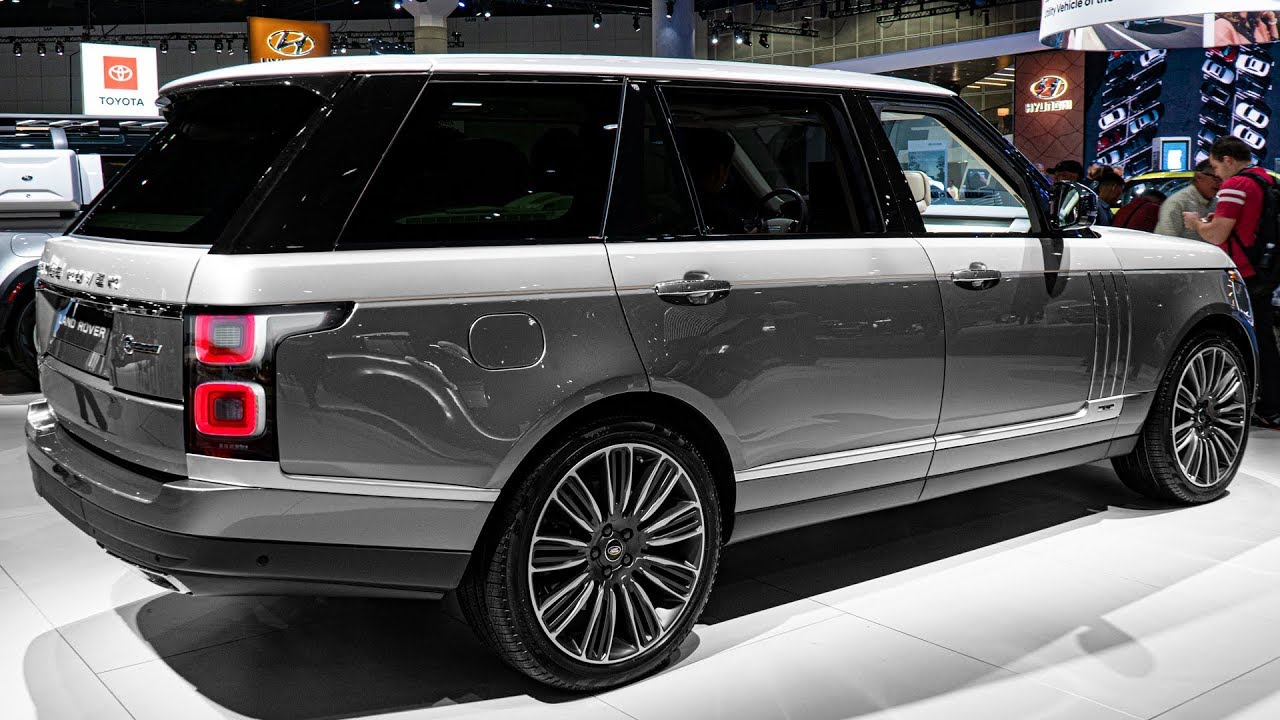 Range Rover Interior >> 2020 Range Rover SV Autobiography L - Interior and ...