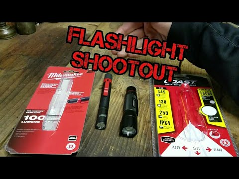 Milwaukee vs Coast: Flashlight Review