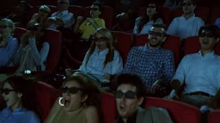 Cinema City - maximálny filmový zážitok 4DX len v Cinema City Aupark