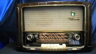 GRUNDIG 3035 56 3D KLANG Röhrenradio