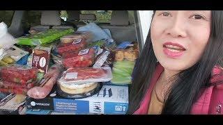 Đi chợ costco ăn thức ăn miễn phí, Cuộc sống ở Mỹ.