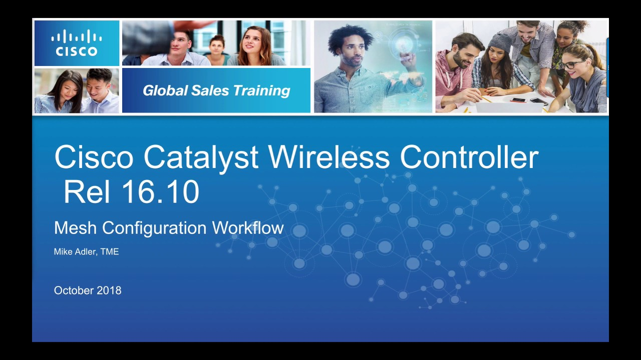 Cisco Catalyst 9800 Wireless Controller Mesh Deployment
