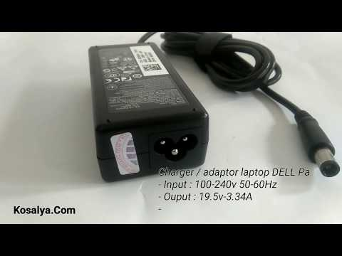 Adaptor / Charger Laptop Dell 19.5v - 3.34a Pin Central