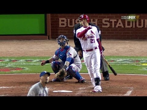 WS2011 Gm7: Craig homers to put Cardinals on top