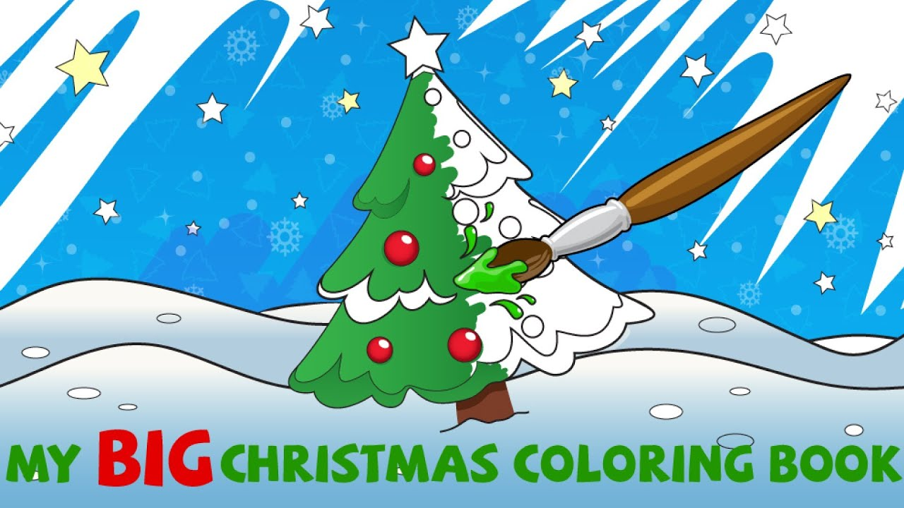 My Big Christmas Coloring Book