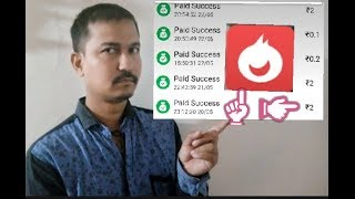 Injoy app payment proof live in PAYTM daily RS 2 instant directly ! I got proof by Vishalkumar
