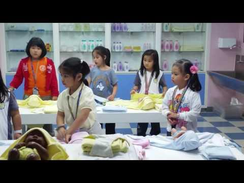 Baby Care Training at Kidzania Manila