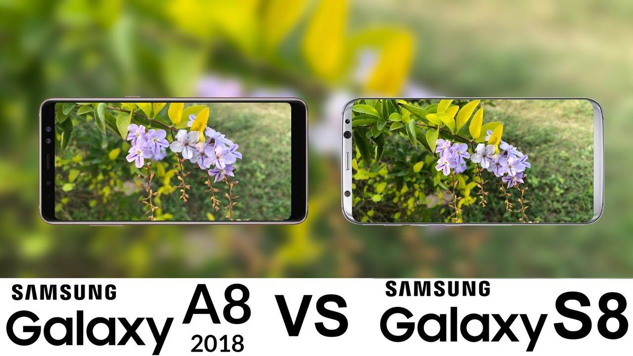 samsung galaxy a8 2018 vs galaxy s8 camera test youtube. Black Bedroom Furniture Sets. Home Design Ideas