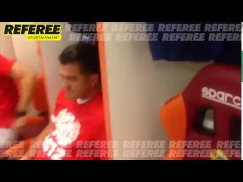 Saludos de Fabio Capello - Miguel Gurwitz en REFEREE